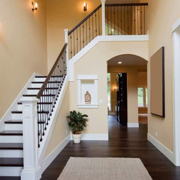 Разные межэтажные лестницы в частном доме на фото