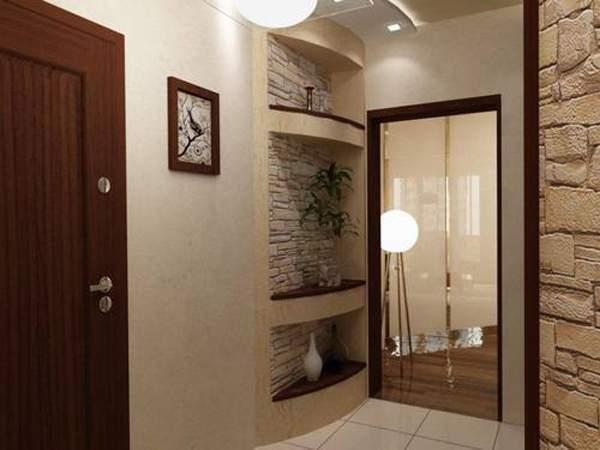 Маленькие комнаты - дизайн прихожей на фото в квартире