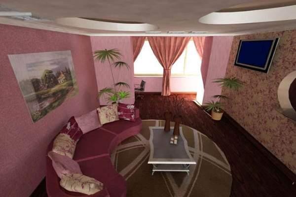 Дизайн маленьких комнат в квартире - зал в однокомнатной хрущевке