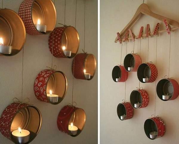 Оригинальные идеи для декора дома своими руками из жестяных банок