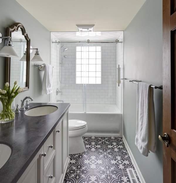 Выбираем стеклянные двери для ванны вместо шторок и пластика