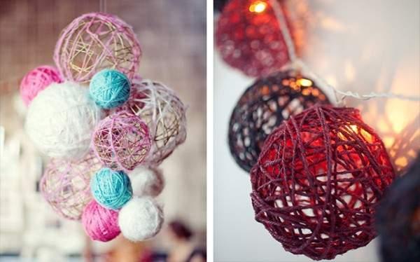 Делаем шары декор
