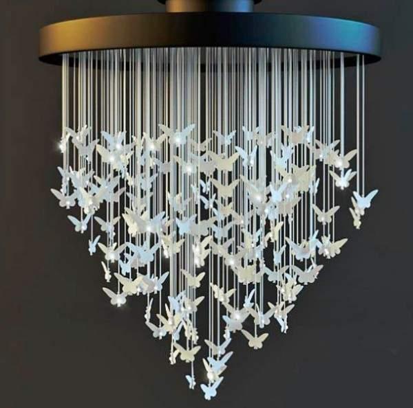 Полезные идеи для дома своими руками - светильник из бумаги
