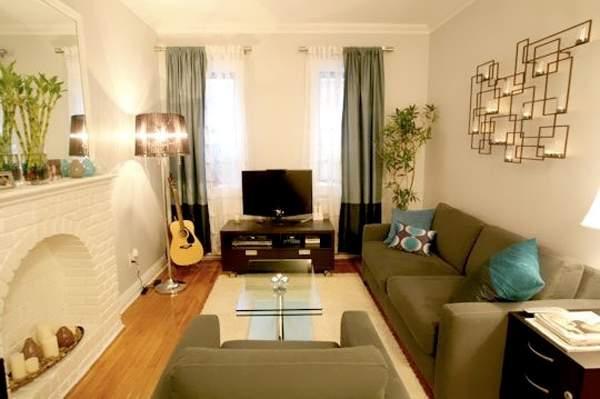 Интерьер зала в дизайне маленьких комнат в квартире 30 кв м