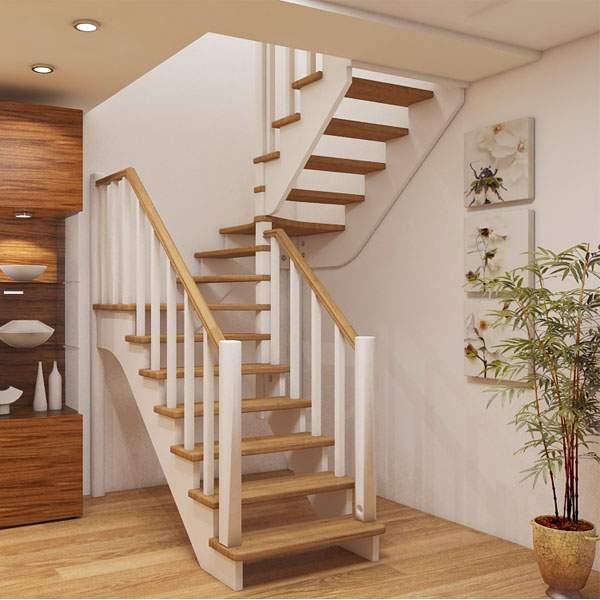 Виды лестниц в частном доме по форме и материалам