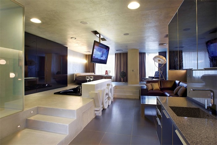 Стиль хай-тек - современного решения для вашей гостиной
