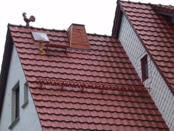 Устройство крыши из металлочерепицы фото 2