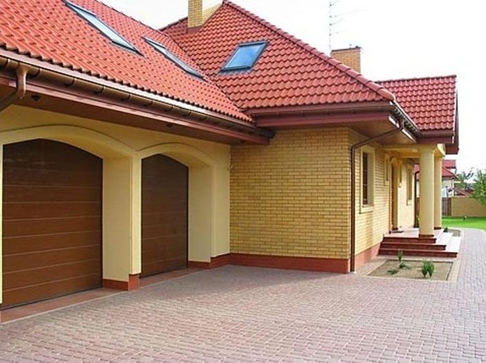 Проекты домов с гаражом под одной крышей фото