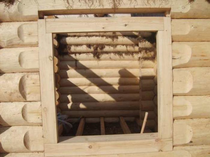Монтаж окон в деревянном доме своими руками