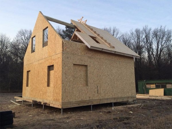 строительство каркасного дома по канадской технологии