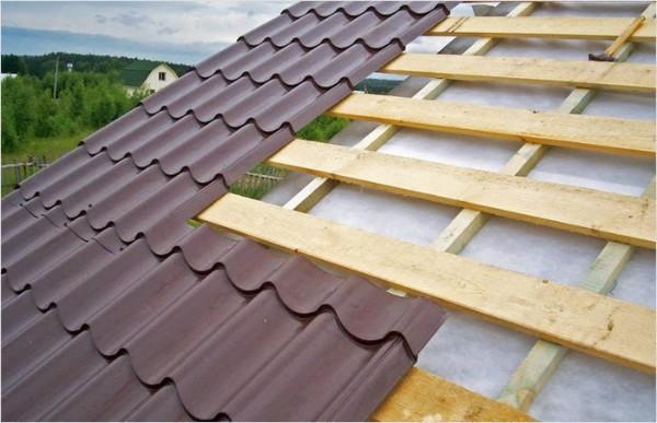 Крыша из металлочерепицы своими руками фото 1
