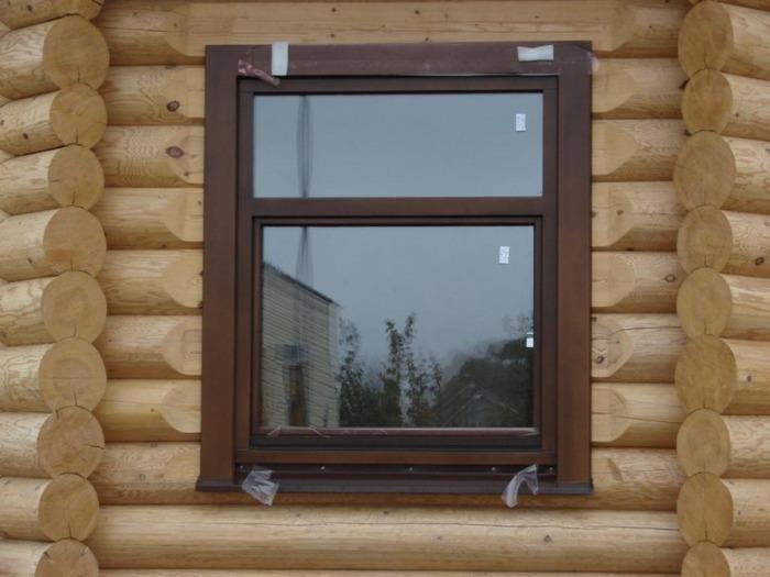 Как вставить окно в деревянном доме фото своими руками