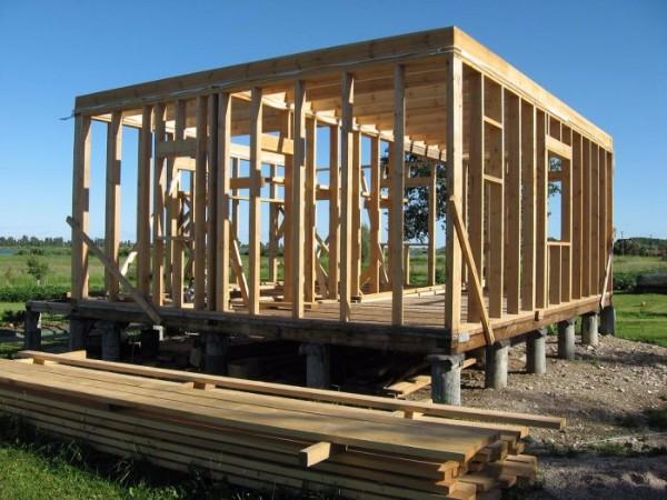 Каркасно-рамочная технология строительства каркасных домов фото 2