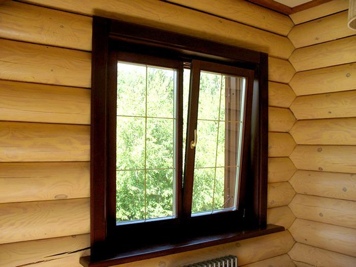 Как вставить окно в деревянном доме своими руками