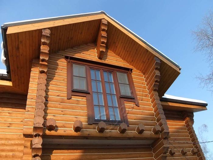 Установка окон в деревянном доме фото