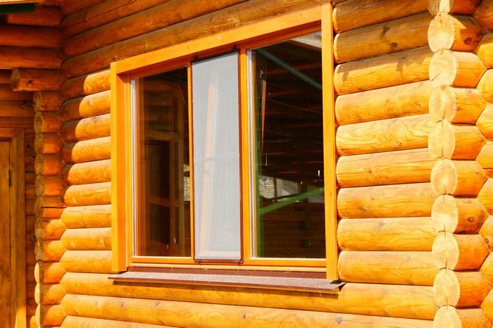 Быстрая установка окон в деревянном доме