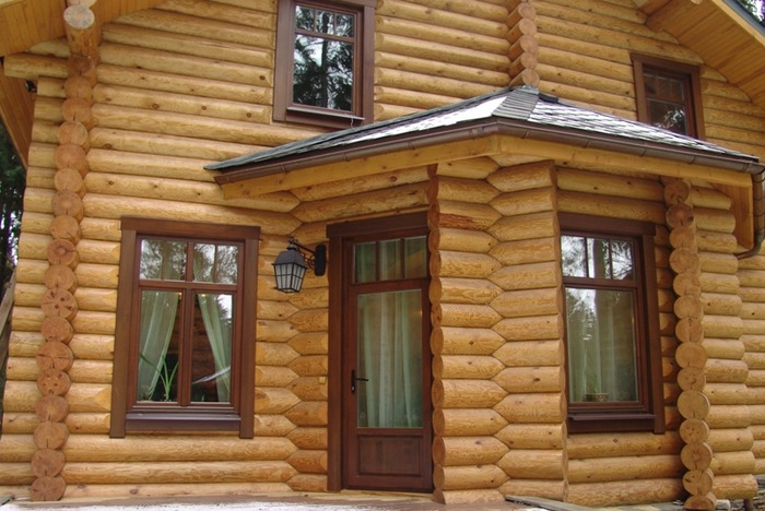 Быстрая установка окон в деревянном доме фото
