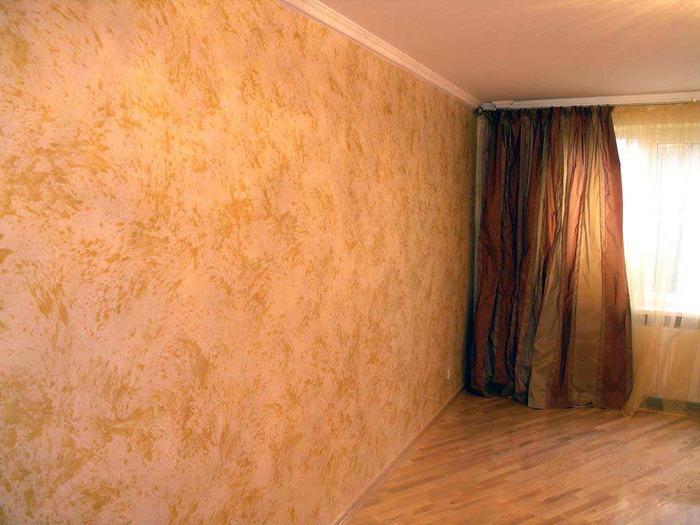 Виды декоративной штукатурки для стен
