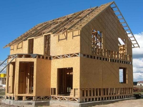 Панельно-каркасная технология строительства каркасного дома фото 1