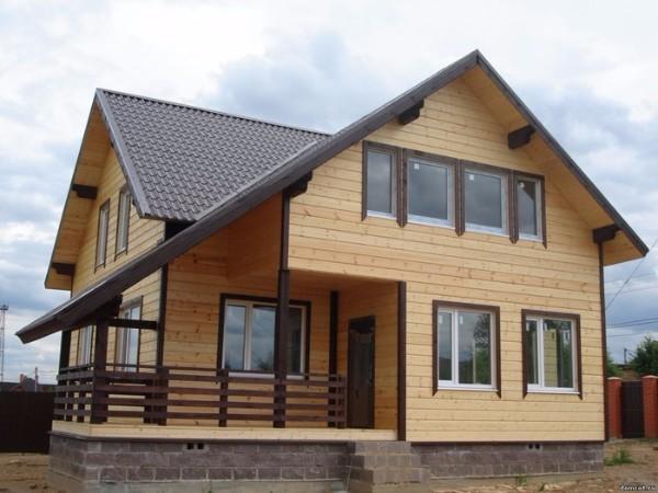 Крыши из металлочерепицы фото домов фото 1