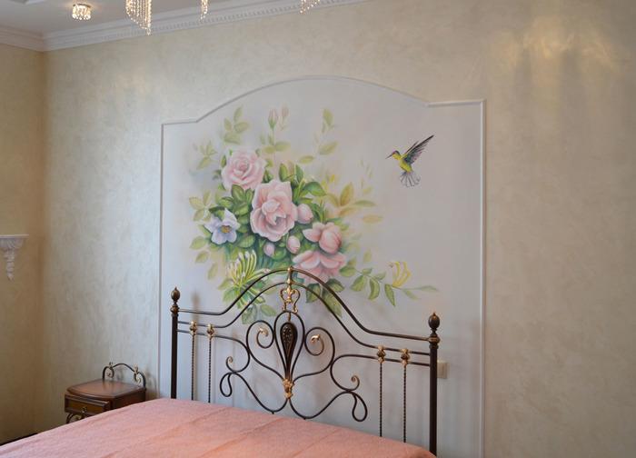 Отделка стен декоративной штукатуркой фото 2