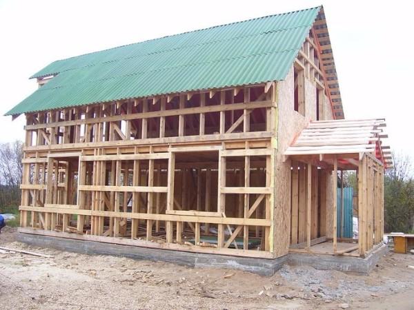 Панельно-каркасная технология строительства каркасного дома фото 3