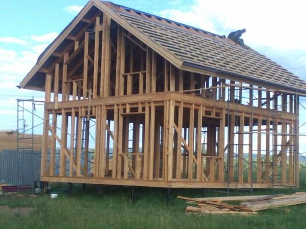 Каркасно-рамочная технология строительства каркасных домов фото 3