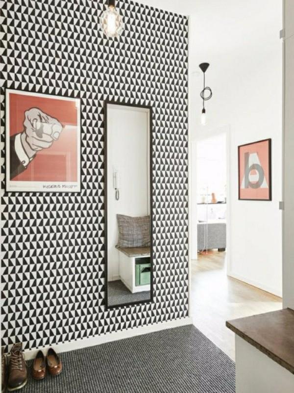 Обои в коридор фото в квартире вариант 3