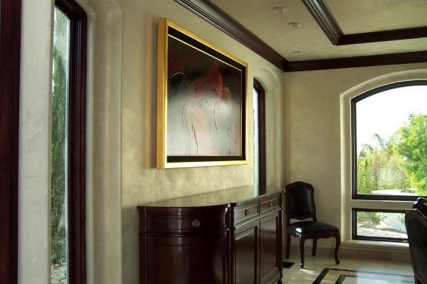 Венецианская штукатурка фото в интерьере дома