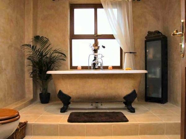 Венецианская штукатурка в ванной фото