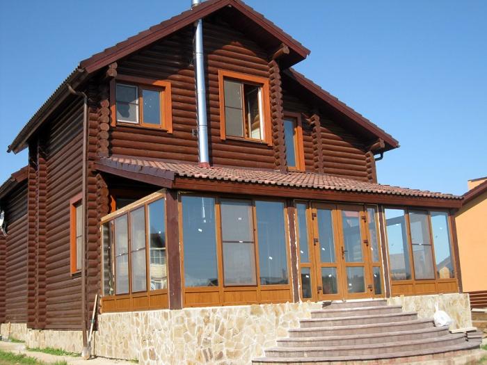 Как пристроить веранду к деревянному дому своими руками