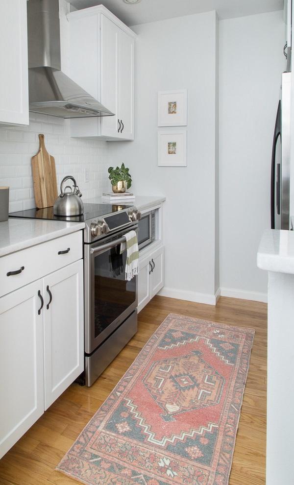 Дизайн однокомнатной квартиры 30 квадратов и кухни фото