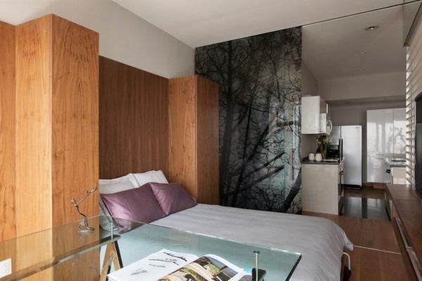 Модный дизайн однокомнатной квартиры 30 м фото