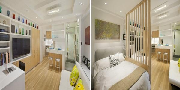 Шикарный дизайн однокомнатной квартиры 30 кв.м