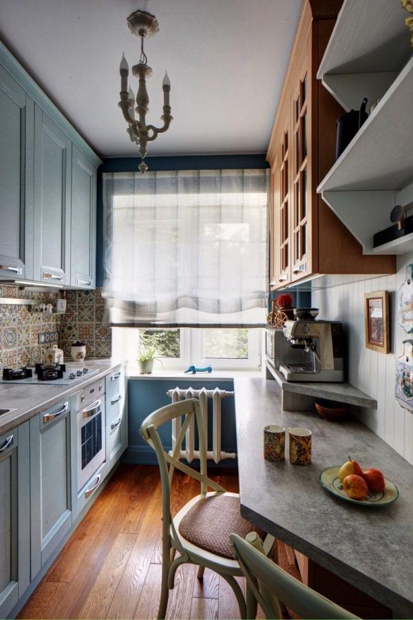 Дизайн однокомнатной квартиры 30 квадратов и кухни