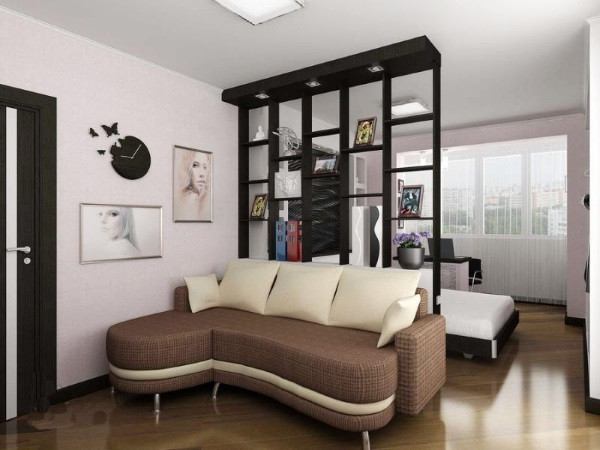 Современный дизайн однокомнатной квартиры 30 м фото