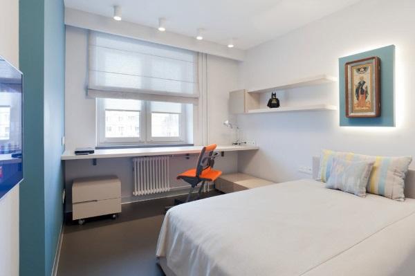 Дизайн однокомнатной квартиры 30 кв.м