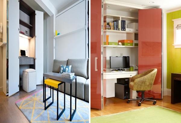 Современный дизайн однокомнатной квартиры 30 м