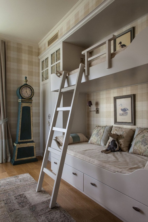 Дизайн однокомнатной квартиры 30 кв.м для семьи с ребёнком