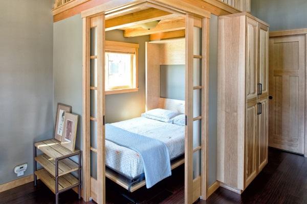 Уютный дизайн однокомнатной квартиры 30 кв.м