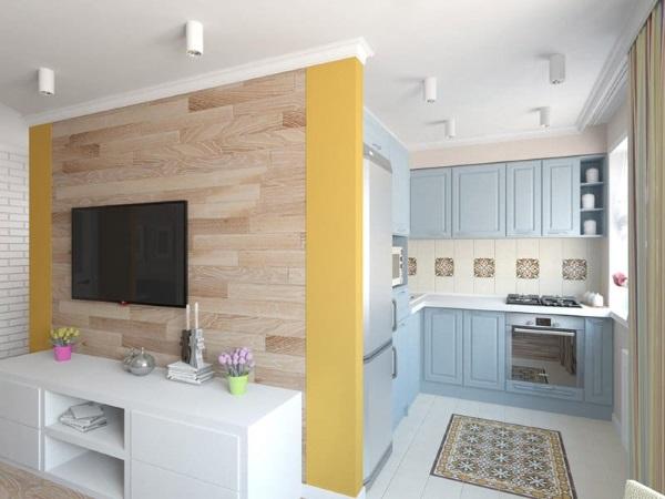 Дизайн однокомнатной квартиры 30 квадратов фото перепланировка