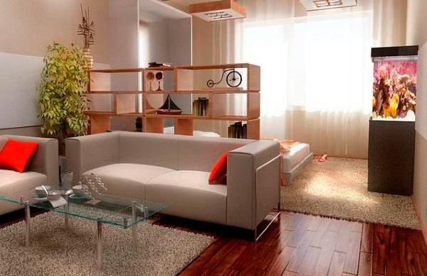 Шикарный дизайн однокомнатной квартиры 30 м фото