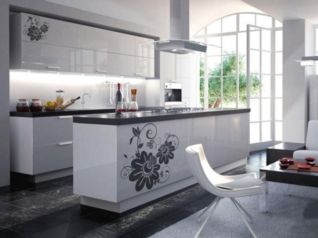 Дизайн интерьера кухни-столовой фото 2