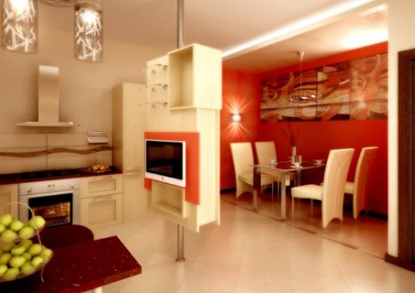 Интерьер кухни столовой фото 3