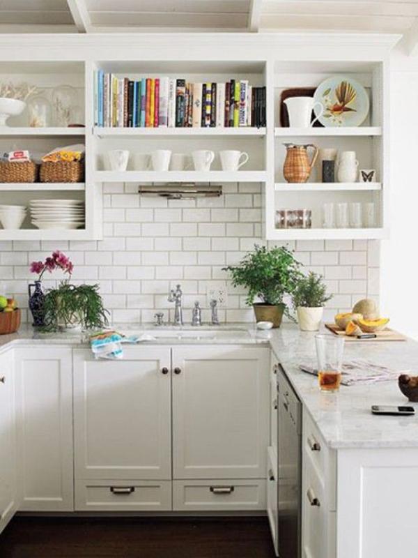 Декор в интерьере маленькой кухни