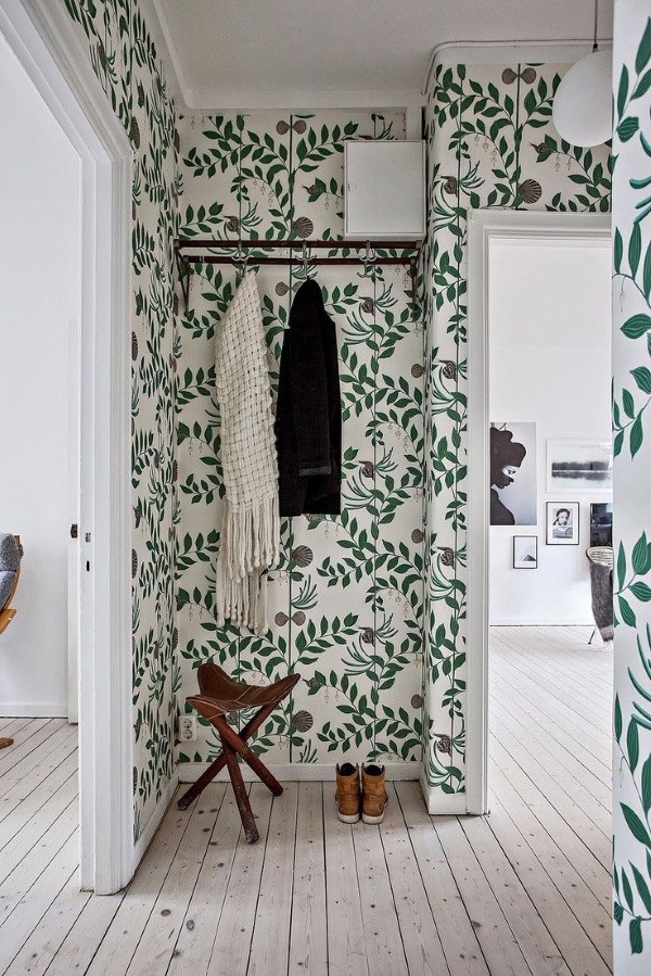 Дизайнерские обои в коридор фото 1