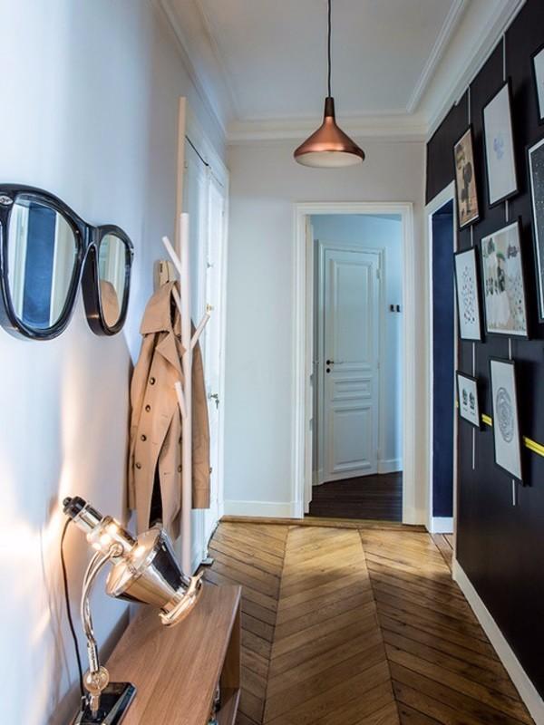 Комбинированные обои для коридора в квартире фото 5