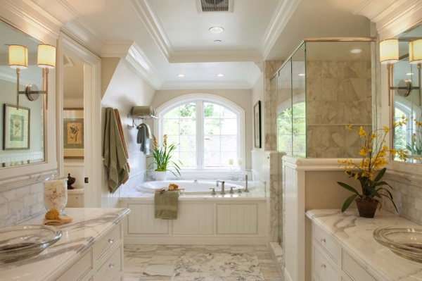 Красивые ванные комнаты фото 14