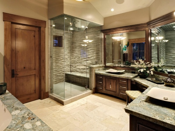 Красивая ванная комната дизайн фото 19