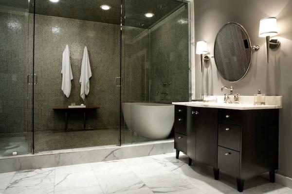 Красивый дизайн ванной комнаты фото 26